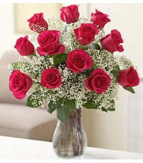 Red Ribbon Bouquet