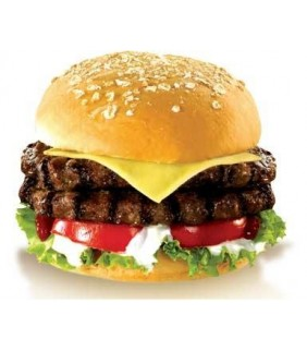 The best Beef Burger in Kampala
