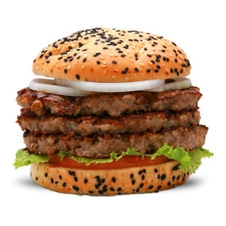 Triple Beef Burger