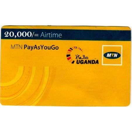 20000 MTN Airtime Voucher