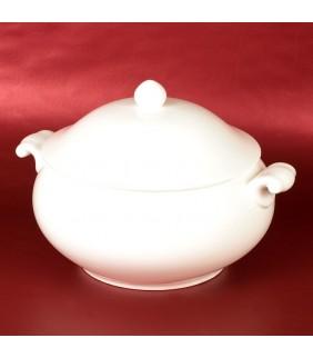 White Big serving dish