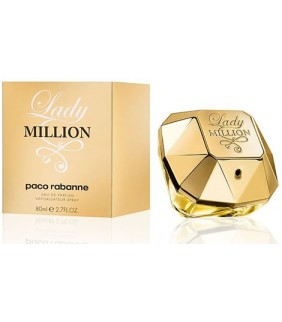 PACO RABANNE Lady Million Eau de Parfum for Women - 80ml