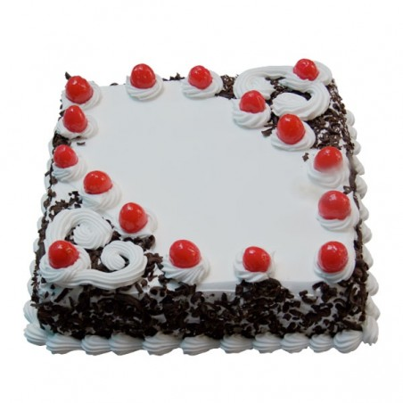 Black Forest Rectangular Cake