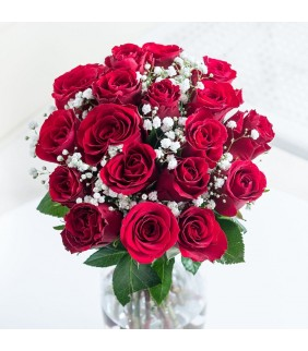 Simply Red Roses Bouquet