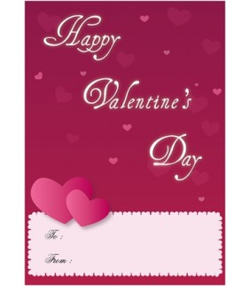 Valentine Sample Card